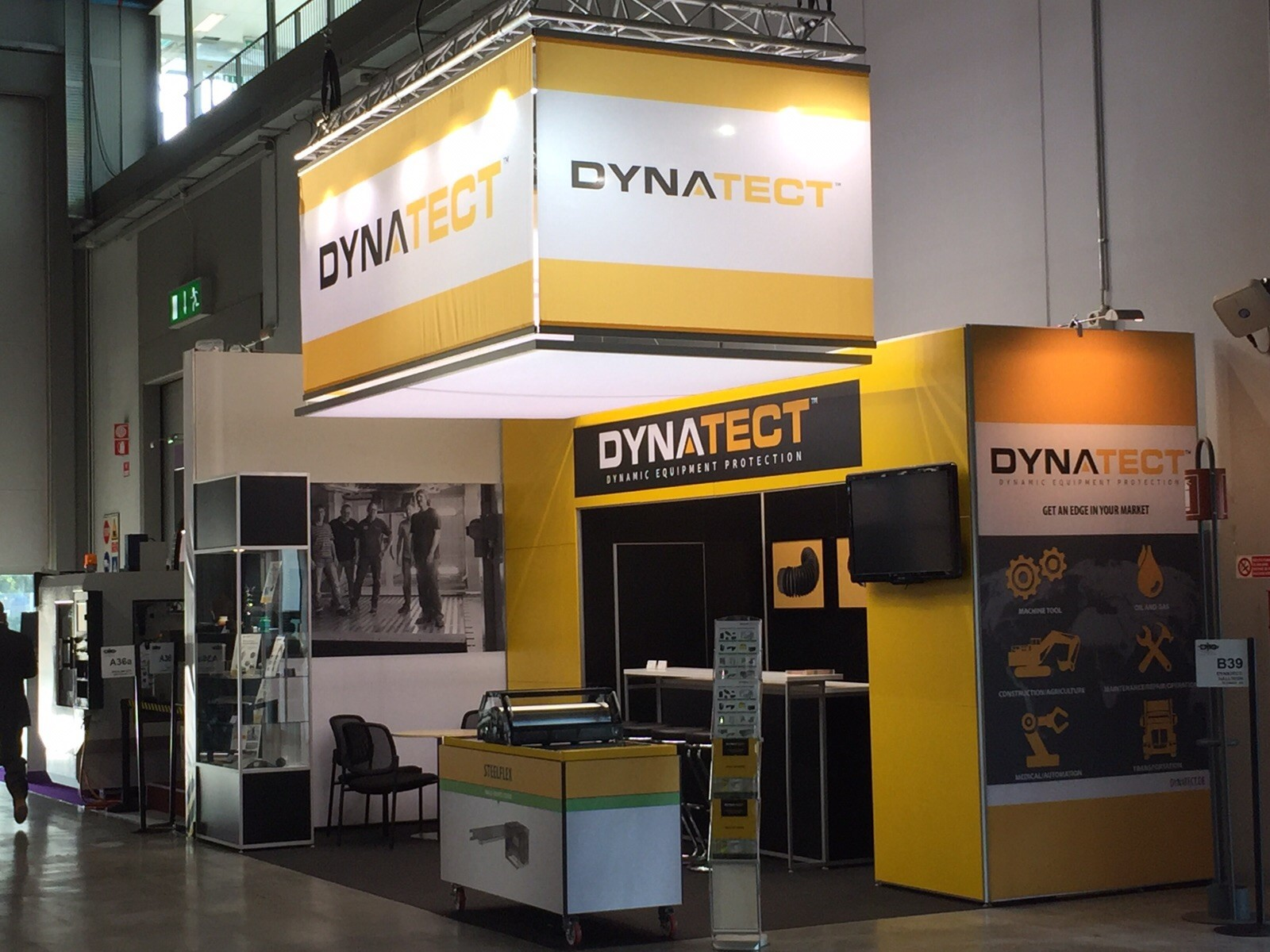 Dynatect Messestand EMO 2015